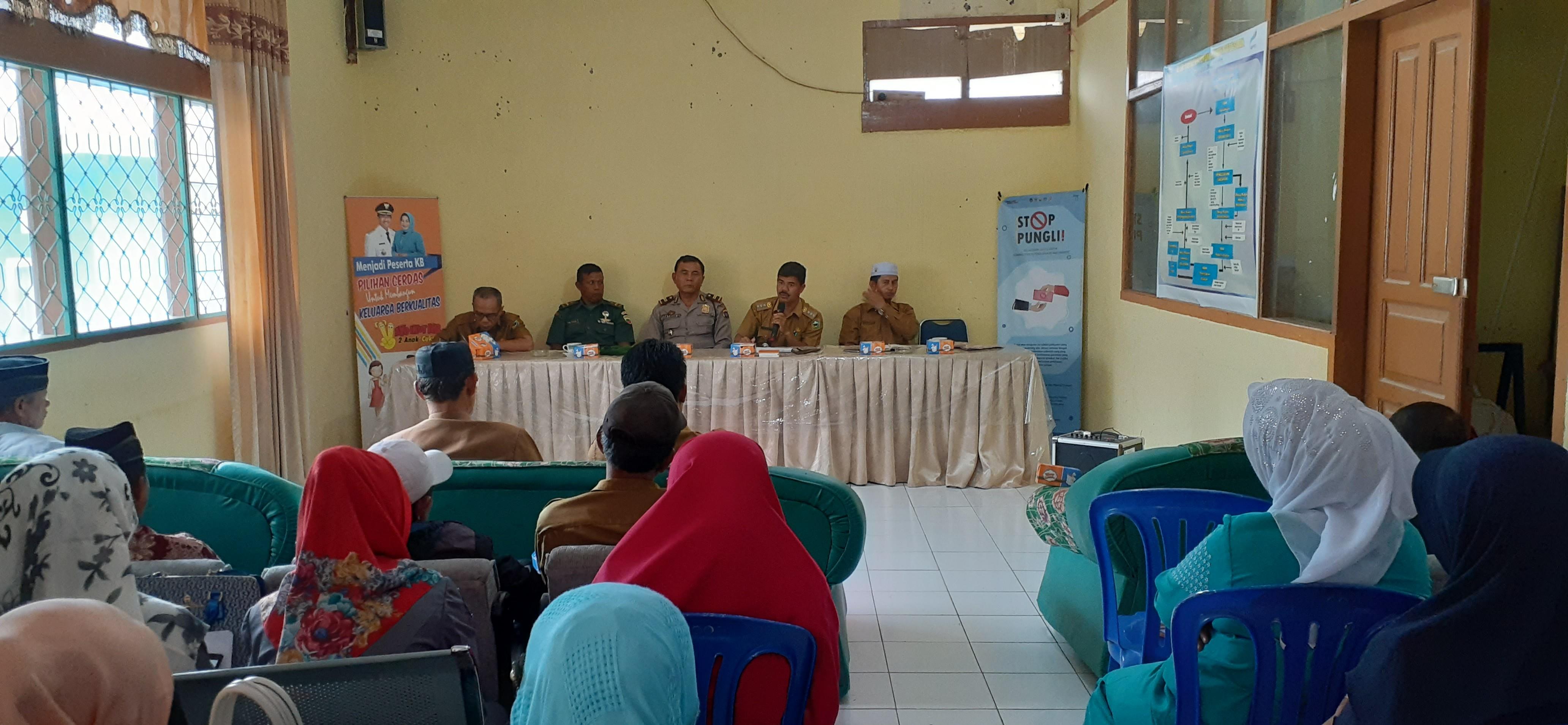 Rapat Koordinasi Kecamatan Junjung Sirih
